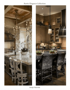 European Manor/ Rustic Elegant Kitchens