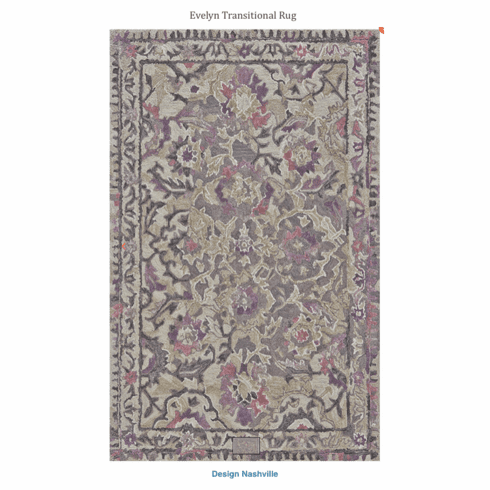 Evelyn Transitional Rug