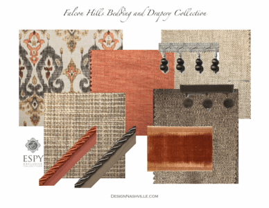 Falcon Hills Bedding and Drapery Collection