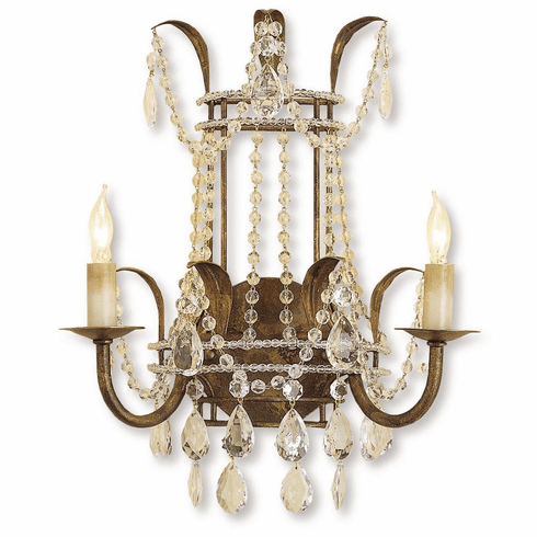 Favreau Crystal Lighting Sconce