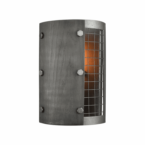 Fenway Ash Grey Wall Sconce