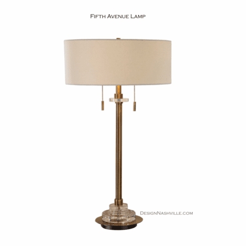 Fifth Avenue Lamp