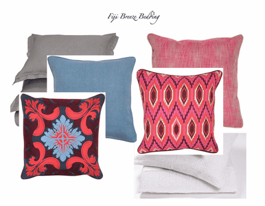 Fiji Breeze Bedding and Drapery Collection