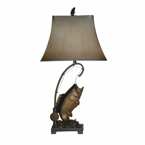 Fish on the Line Lamp