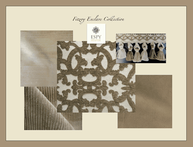Fitzroy Enclave Bedding and Drapery Collection