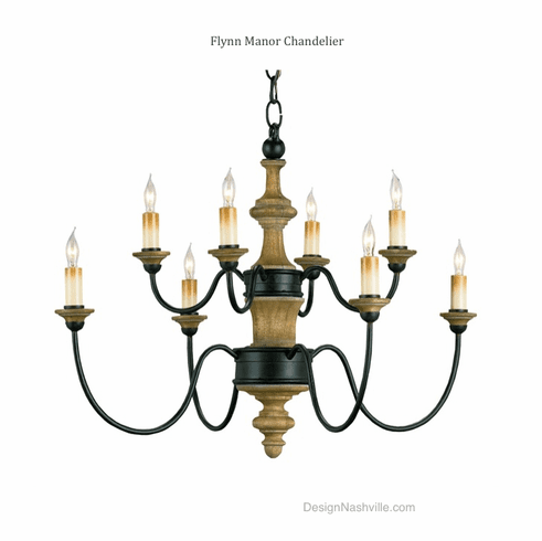 Flynn Manor Chandelier