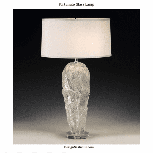 Fortunato Glass Lamp