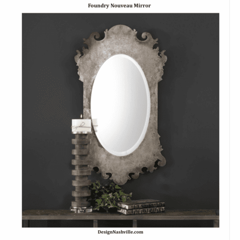 Foundry Nouveau Shaped Mirror