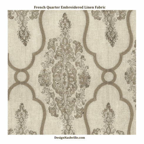 French Quarter Linen Fabric