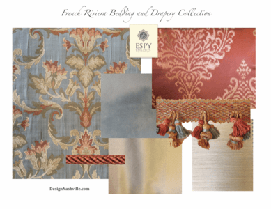 French Riviera Bedding and Drapery Collection II
