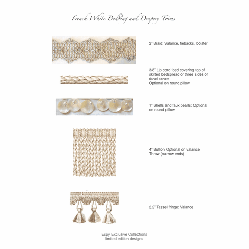 French White II Trim Collection