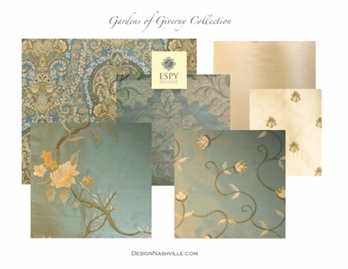 Gardens of Giverny Bedding and Drapery Collection