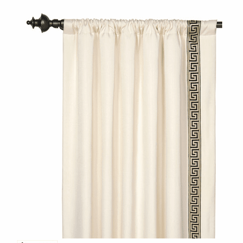 Gatsby Drapery Panel, Left