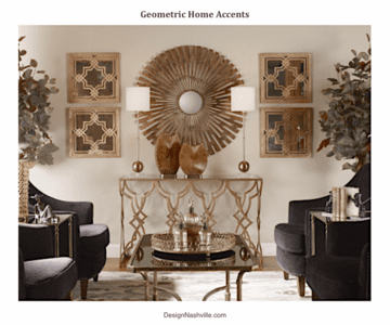 Geometric Home Accents