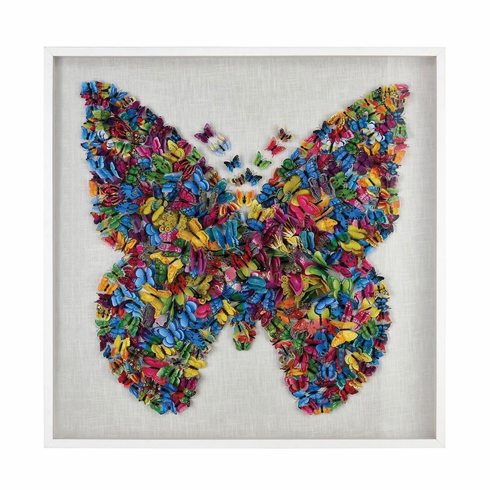 Giant Butterfly Surprise Wall Decor