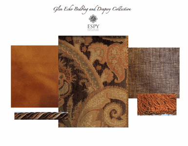 Glen Echo Bedding and Drapery Collection