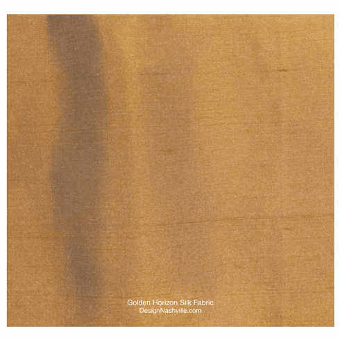 Golden Horizon Silk Fabric
