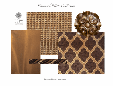 Hammond Estate Bedding and Drapery Collection