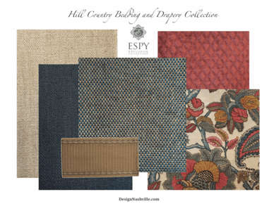 Hill Country Bedding and Drapery Collection