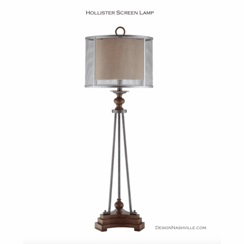 Hollister Screen Lamp