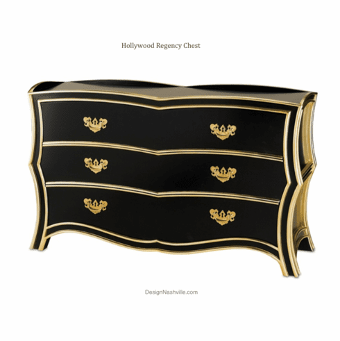 Hollywood Regency Chest