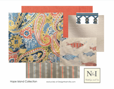 Hope Island Bedding and Drapery Collection