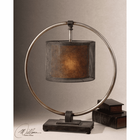 Hudson Cliff Ring lamp 28""