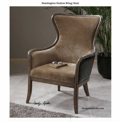 Huntington Station Wing Chair