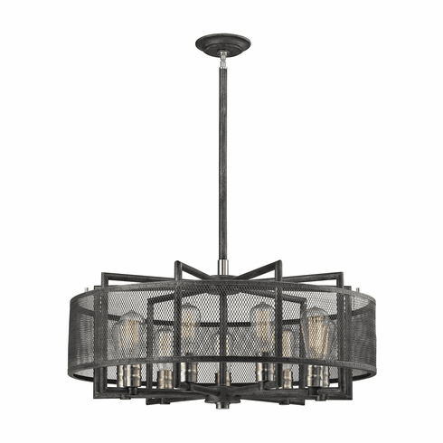 Huxley Screened Chandelier 9 light