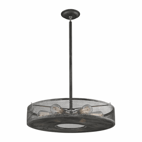 Huxley Screened Drum Chandelier