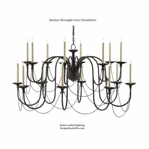 Huxley Wrought Iron Chandelier