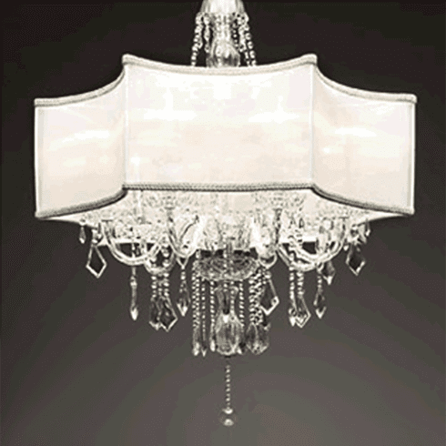Ice Silhouette Artisan Chandelier