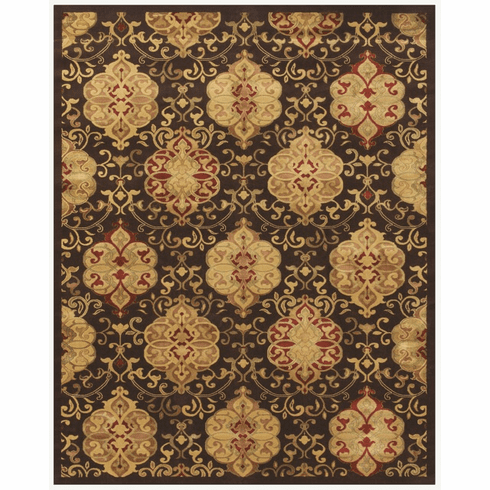 Imperial Chocolate Cordial area rug