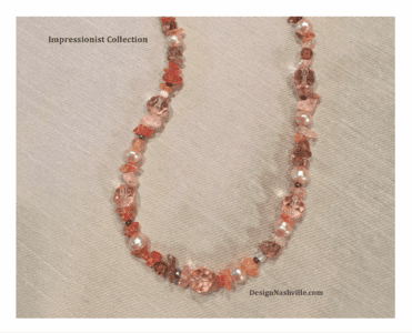 Impressionist Collection, Hand Crafted Jewelry