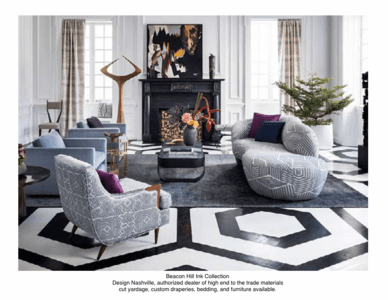 International, Urban Living Room, Beacon Hill Fabrics
