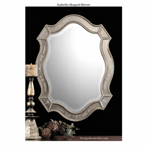 Isabella Shaped Mirror