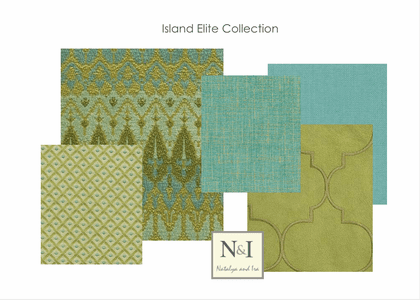 Island Elite Bedding and Drapery Collection