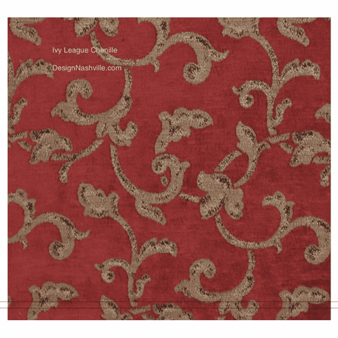 Ivy League Chenille Fabric
