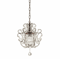 Jaqueline Crystal Mini-Pendant Light