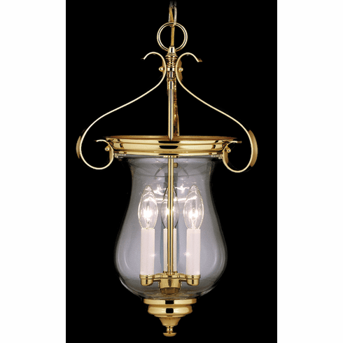 Jeffersonian Classic Glass Urn Chandelier