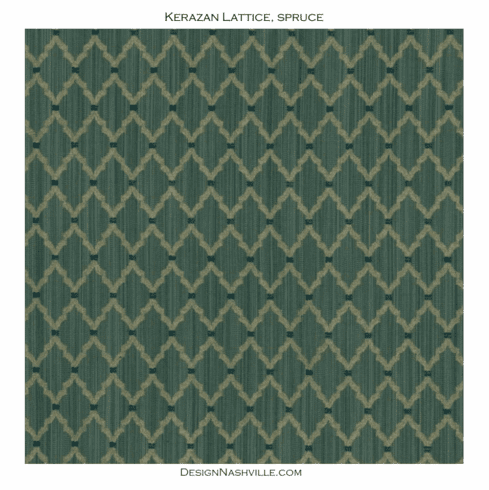 Kerazan Lattice Fabric, spruce