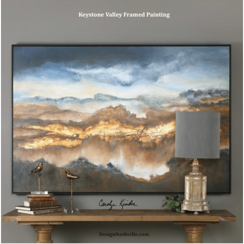 Keystone Valley Framed Painting 73""