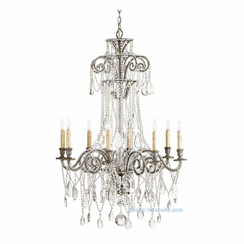 Kimball Estate Crystal Chandelier