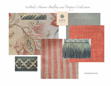 LaBelle Maison Bedding and Drapery Collection