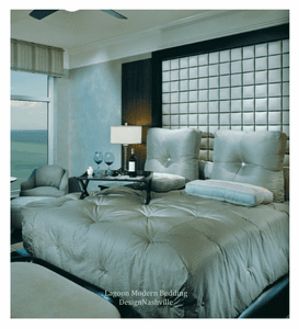 Lagoon Modern Bedding and Drapery Collection, several colors