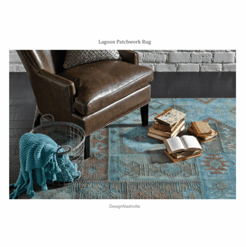 Lagoon Patchwork Rug