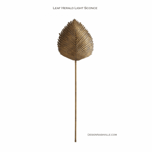 Leaf Herald Light Sconce