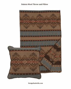 Masculine Pillows and Textiles