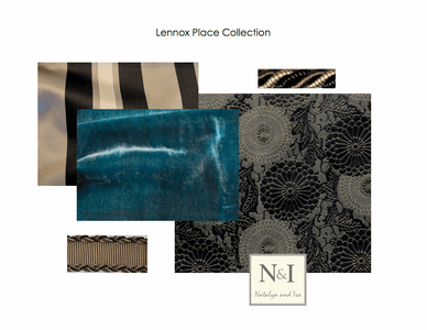 Lennox Place Bedding and Drapery Collection