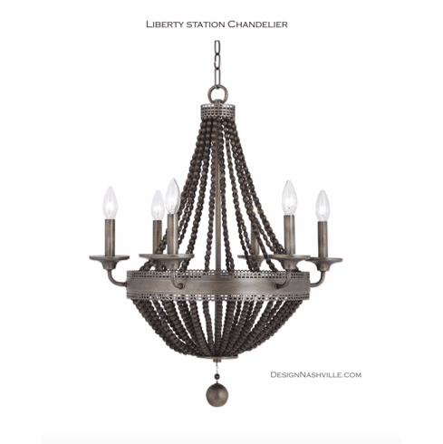 Liberty Station Chandelier